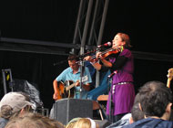 Green Man - Lisa Knapp performing with Dick Smith